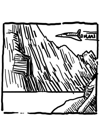 Mountain Plane