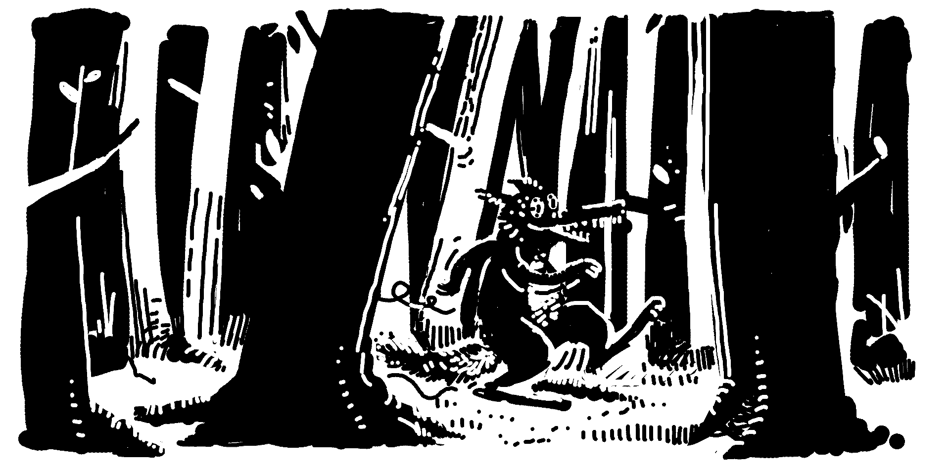 the wolf struttin