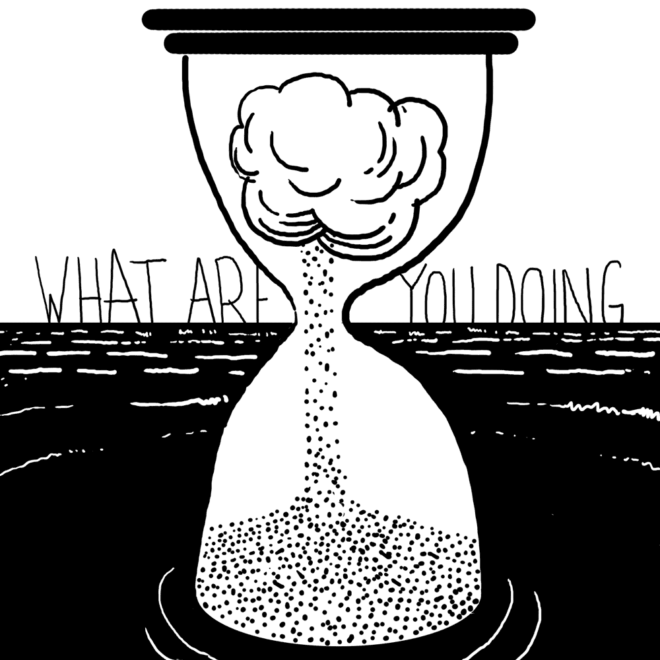 Thumbnail for What Are You Doing? comic
