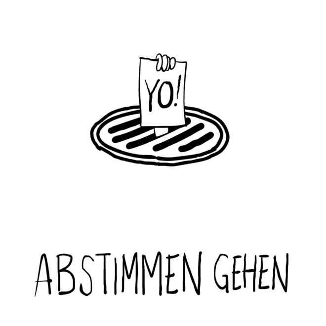 Thumbnail for Abstimmen Gehen comic