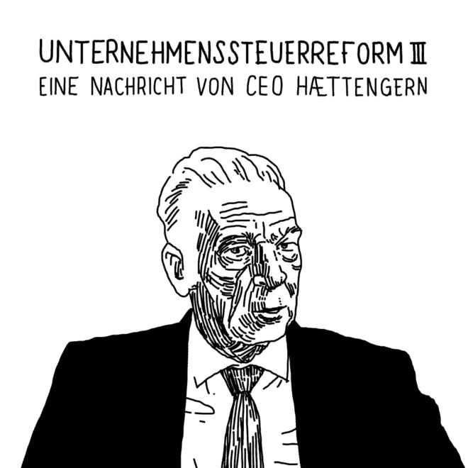 Thumbnail for Eine Nachricht von CEO Haettengern comic