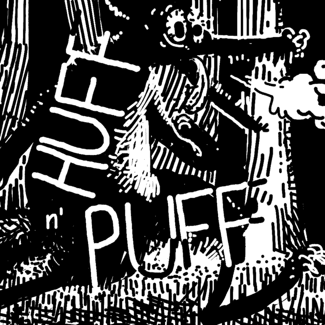 Thumbnail for Huff n' Puff comic